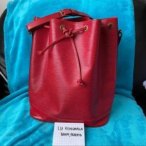 Louis Vuitton Noe Epi Red GM size